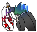 BlazBlue Blue Radio Sticker 079.png