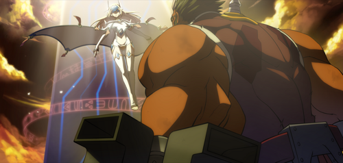 BlazBlue Continuum Shift Iron Tager Arcade 02.png