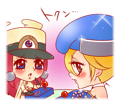 BlazBlue Blue Radio Sticker 042.png