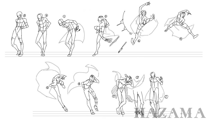 BlazBlue Hazama Motion Storyboard 02.png