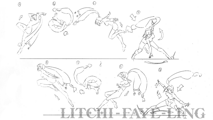 BlazBlue Litchi Faye-Ling Motion Storyboard 02.png