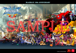 BlazBlue 10th Anniversary Tapestry.png