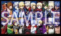 Sample image.<br><i>BlazBlue: Cross Tag Battle</i> Sticker<i></i>