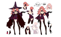 BlazBlue Nine the Phantom Model Sheet 01.png