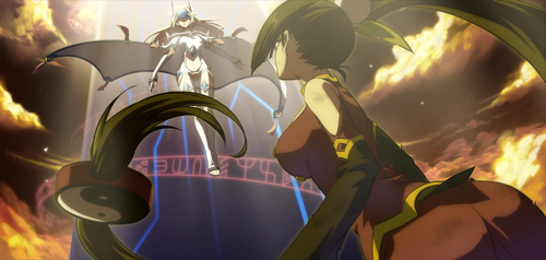 BlazBlue Continuum Shift Litchi Faye-Ling Arcade 02.png