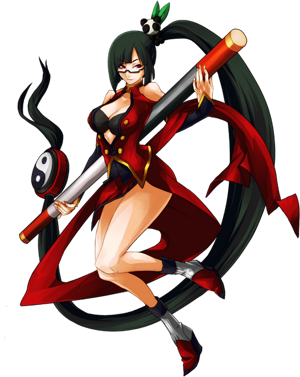 BlazBlue Continuum Shift Litchi Faye-Ling Main.png