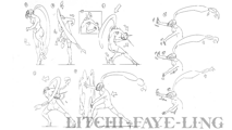 BlazBlue Litchi Faye-Ling Motion Storyboard 03.png