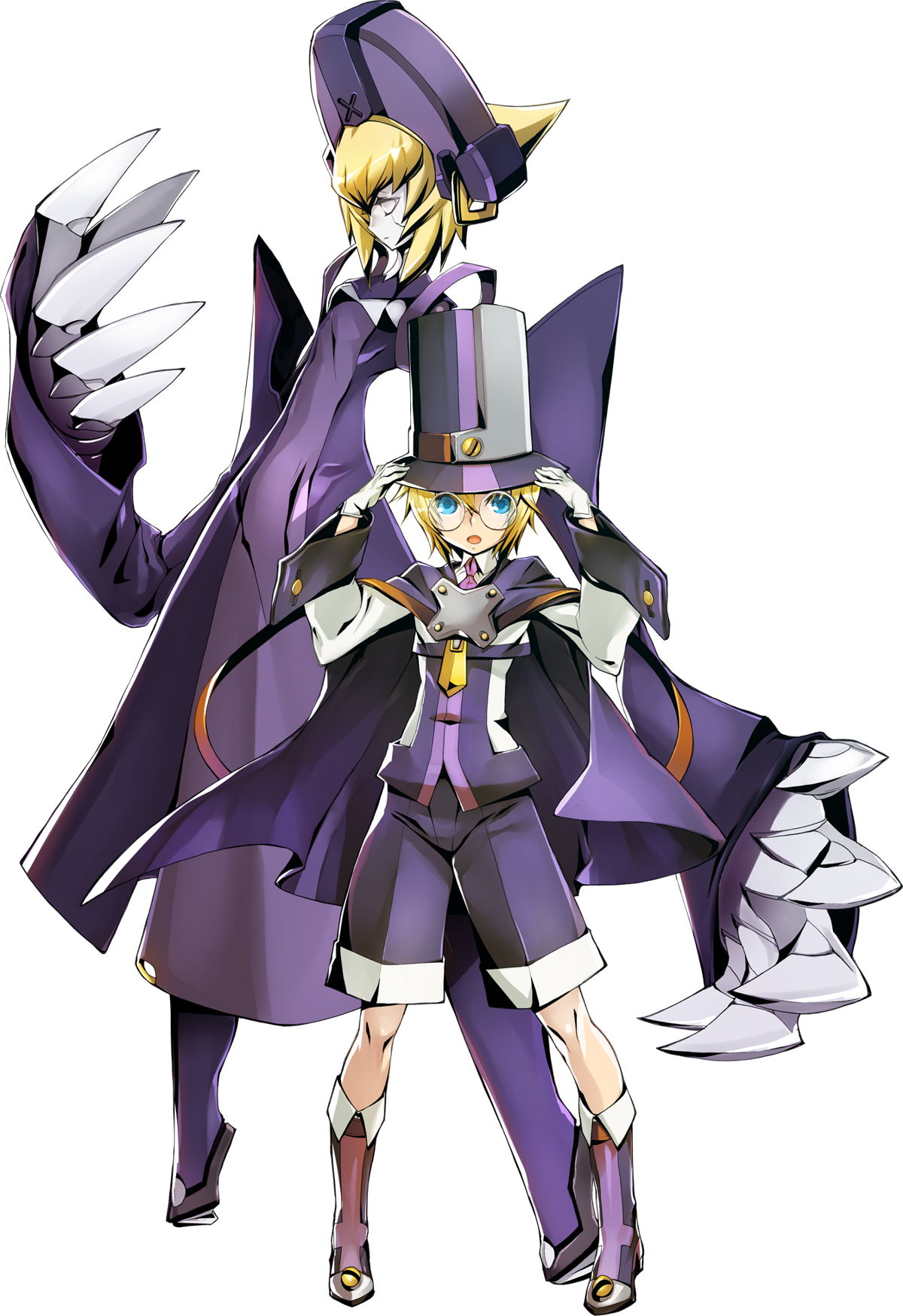 carl clover blazblue wiki
