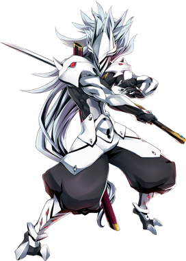 BlazBlue Central Fiction Hakumen Main.png